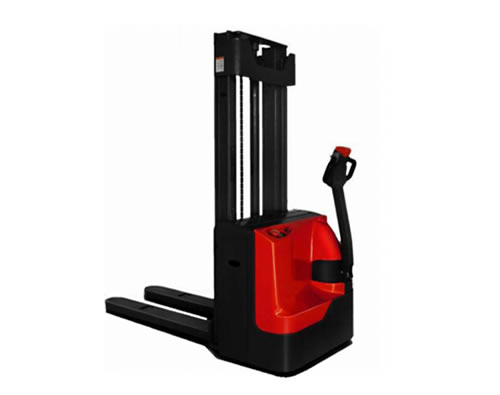 Apilador eléctrico, capacidad 1200 kg, 3,30 M.