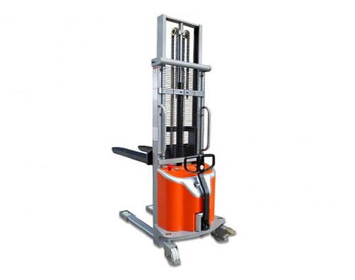 Apilador electro-manual, capacidad 1000 kg, 1,60 M.