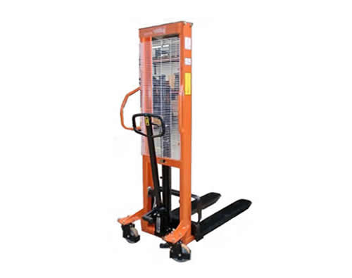 Apilador manual, capacidad 1000 kg, 2,50 M.