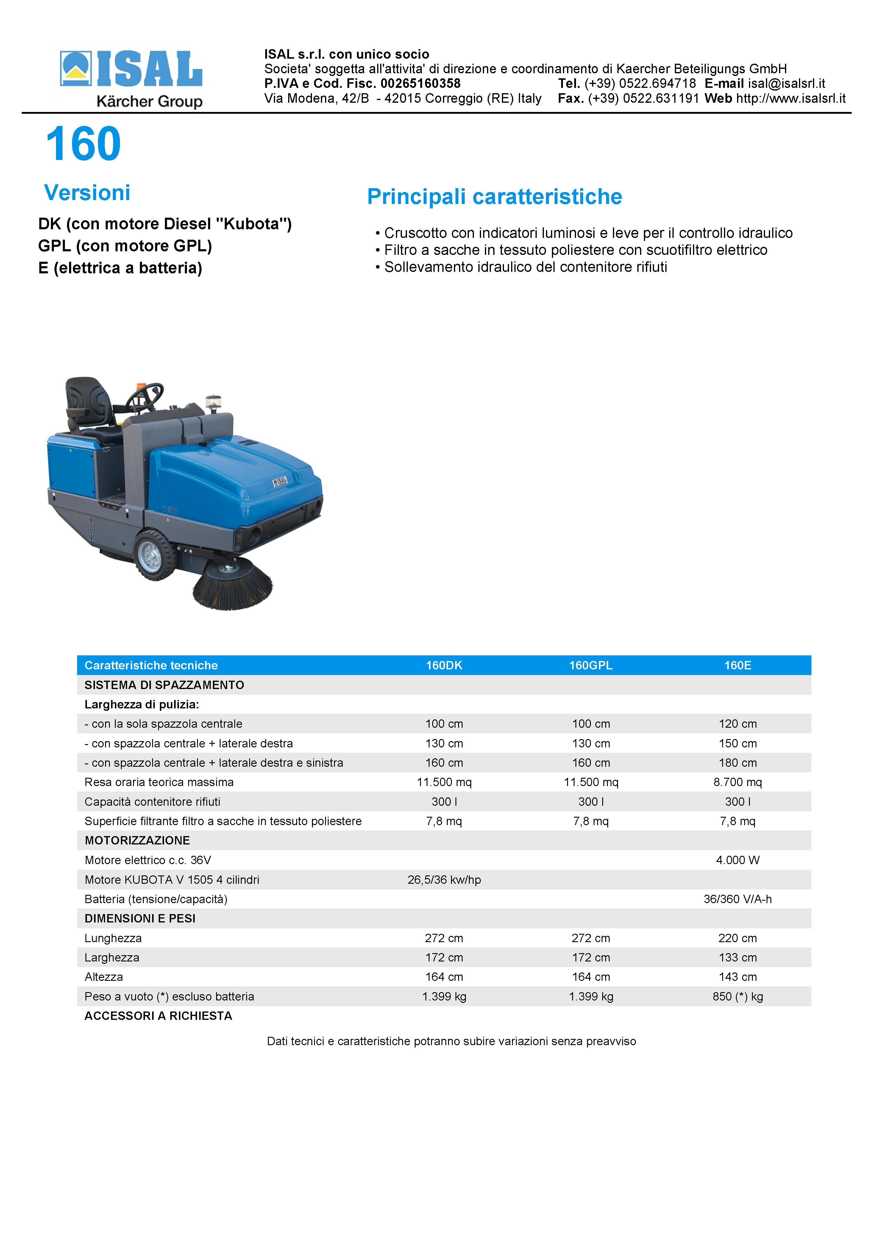 catálogo-barredora-electrica-isal-pb160-e