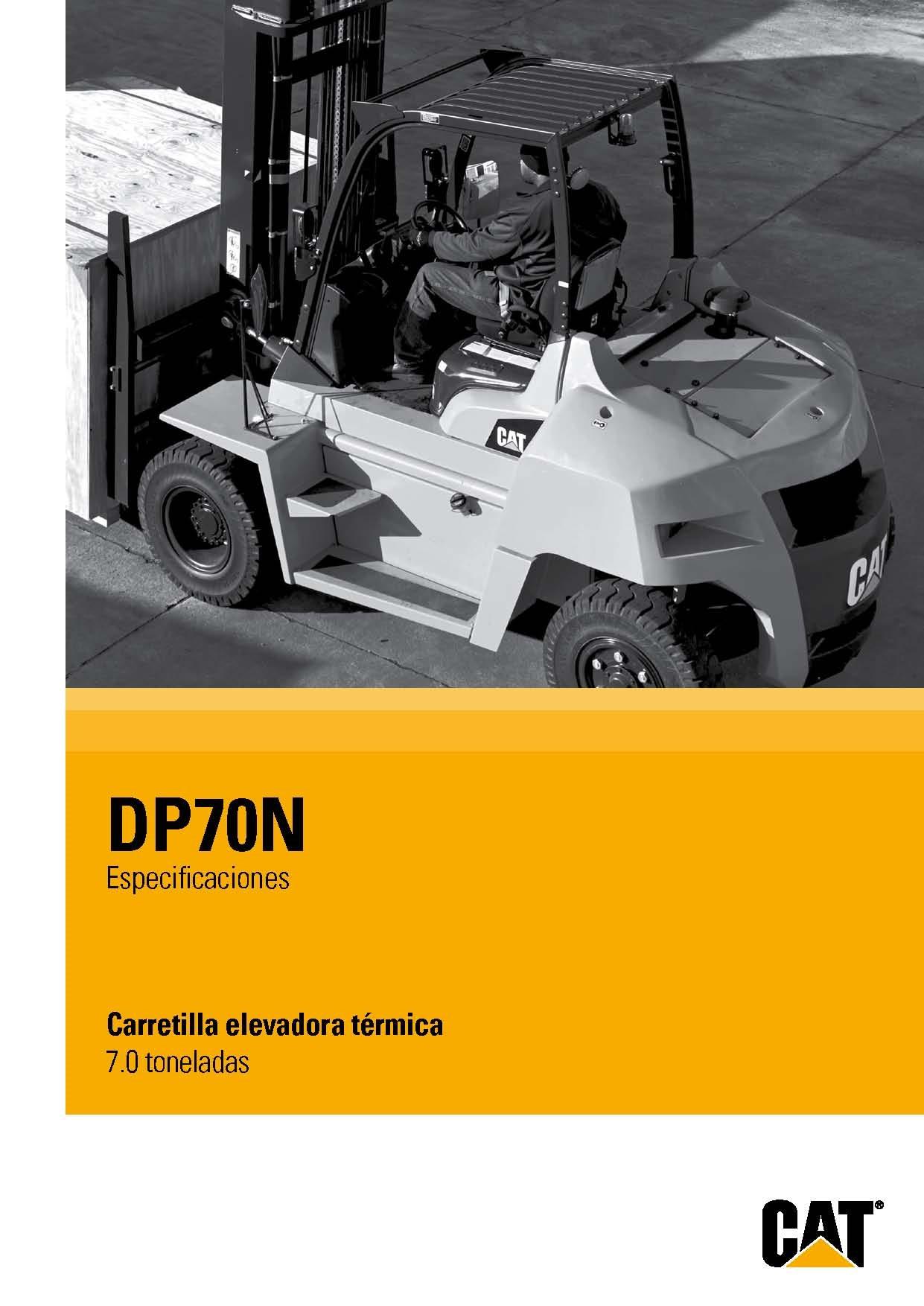 Catálogo DP70N Pag1