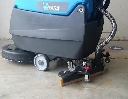 Fregadora industrial eléctrica A5 EVO E