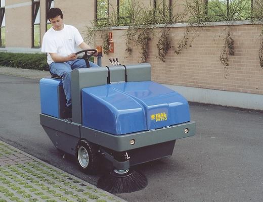 Barredora diesel conductor sentado PB120 D