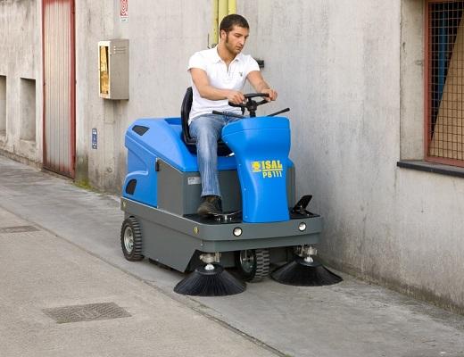 Barredora gasolina conductor sentado PB111 SH