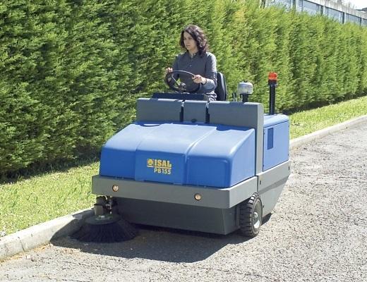 Barredora diesel conductor sentado PB155 D