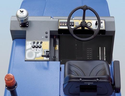 Barredora electrica conductor sentado PB155 E
