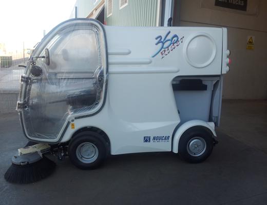 Barredora vial Rider 360 D