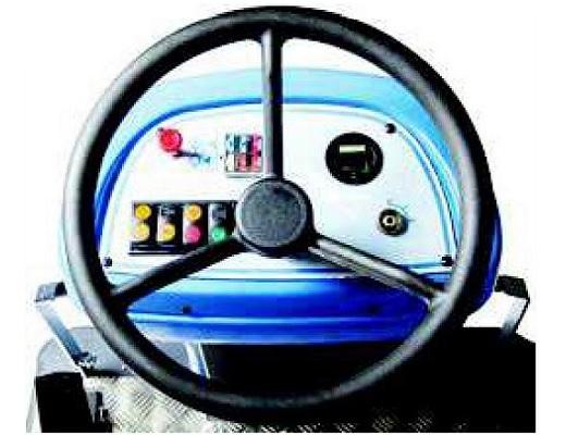 Barredora gasolina conductor sentado PB110 SH