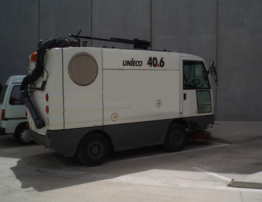 Barredora vial Isal M4 40.6